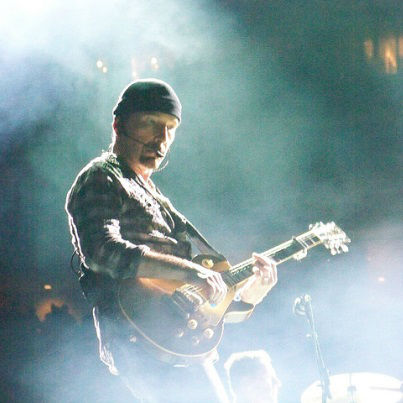 Play guitar like The Edge