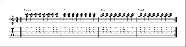 3 string chords 3