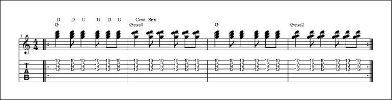 3 string chords 4