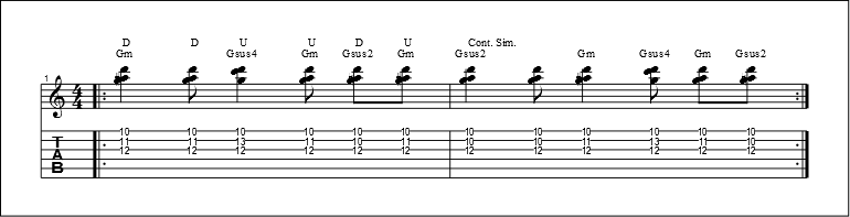 3 string chords 5