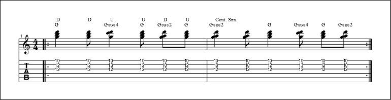 3 string chords 6