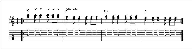 3 string chords 7