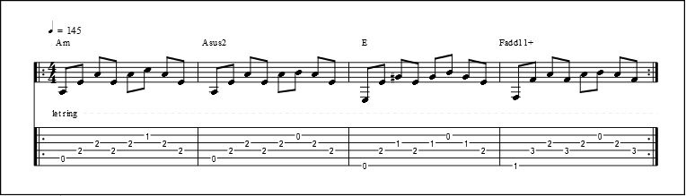 Fingerpicking Patterns (4)