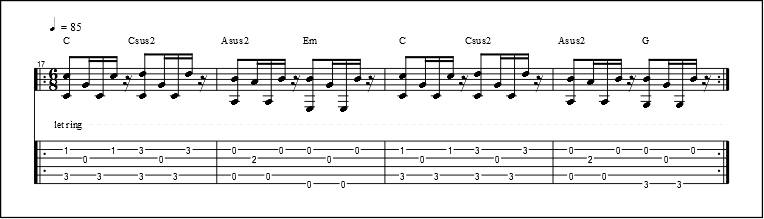 Fingerpicking Patterns (6)