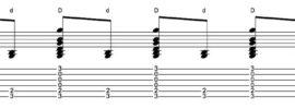 Piano strum