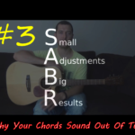 SABR #3 – How to fix those out of tune chords even when your guitar is in tune