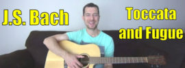 toccata and fugue guitar lesson