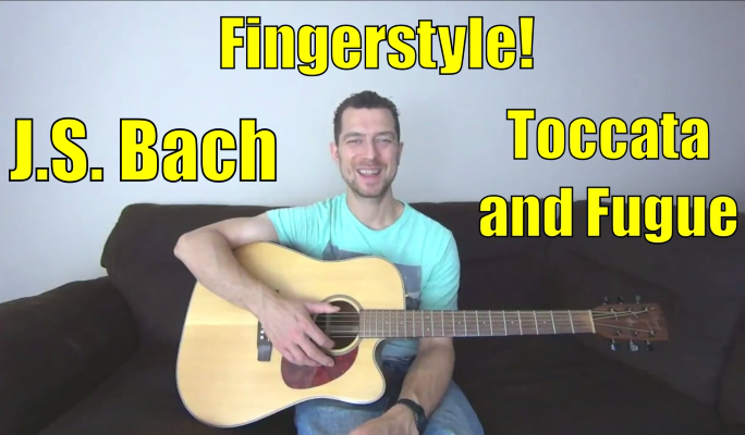 toccata and fugue guitar lesson