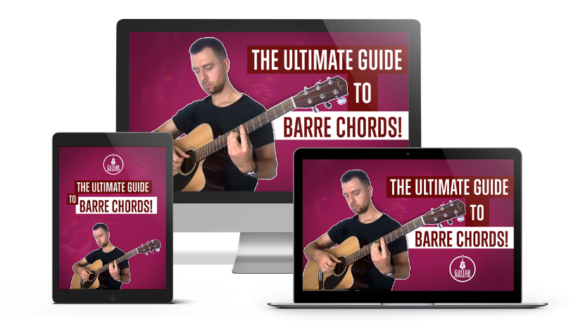 THE ULTIMATE GUIDE TO BARRE CHORDS