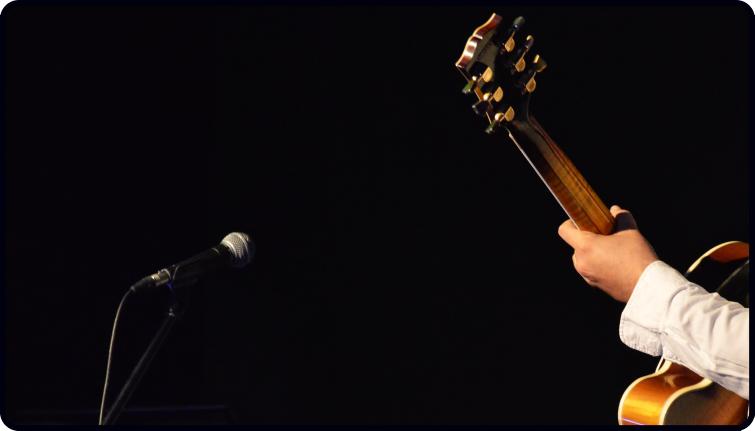guitar performing